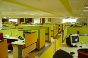 Cubical Farm. Office Image