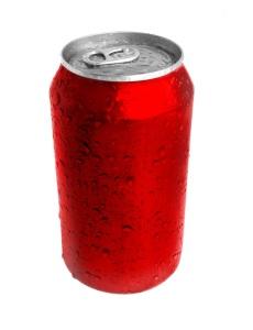 Blank Soda Can Image