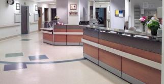 Hospital Desk Image