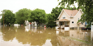 Remove odor from flood damage